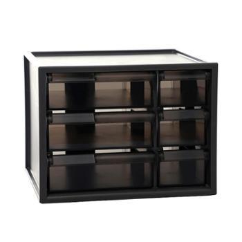 办公用品桌面收纳盒多层抽屉文件夹文具整理盒书桌置物架储物盒子