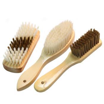 卉凡家用洗衣刷木柄鞋刷子衣服除尘水池清洁软毛多功能小板刷子