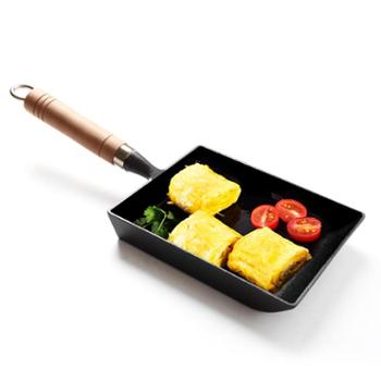 蛋饺锅蛋饺模具煎蛋器不粘锅铸铁平底锅三孔