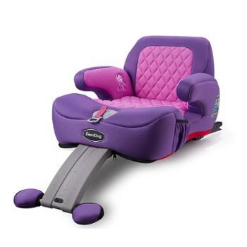 deerKing儿童汽车用安全座椅增高坐垫3-12岁车载便携式简易ISOFIX