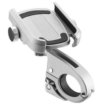 铝合金手机架自行车电动车摩托车防震固定手机导航支架座骑行配件
