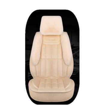汽车坐垫冬季毛绒网红全包围座垫女车垫奥迪A3Q5逍客轩逸速腾座套