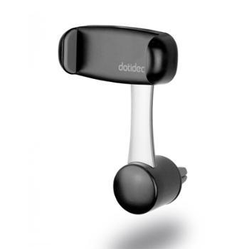 dotidea车载支架 汽车空调出风口卡扣式360度旋转导航手机架