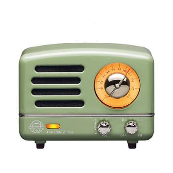 猫王小王子OTRMW-2A收音机复古绿