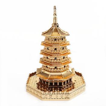 礼汉雷峰塔模型工艺品摆件HZAAA2558