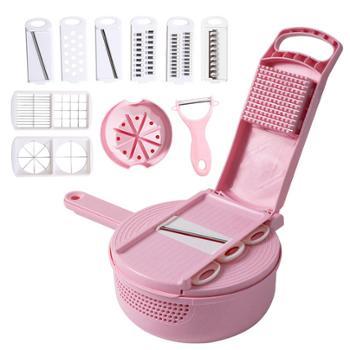 汇管家厨房工具13件套切菜切丁一体刨丝器