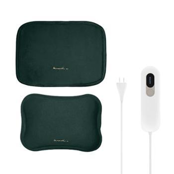 素乐智能调控电加热数显毛绒暖腰暖水袋R6