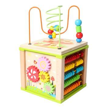 铭塔宝宝绕珠玩具多功能大绕珠串珠百宝箱儿童1-2-3周岁早教益智