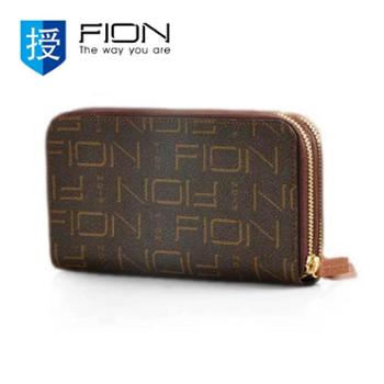 菲安妮FIONFIN/BRN/W308啡色手拎包