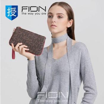 菲安妮FIONFPLL-PBRNCM-L15SH01手拿包