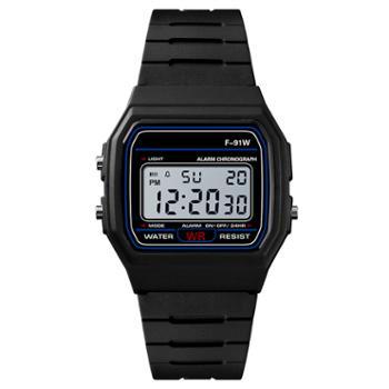 时光一百/TIME100时尚流行多功能学生表潮酷运动电子表儿童手表W40028M