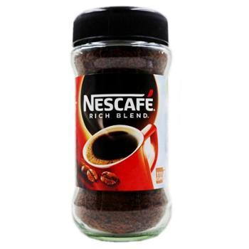 雀巢醇品纯黑咖啡速溶原味瓶装200g