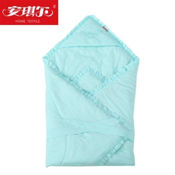 安琪尔家纺新生儿包被棉抱被秋冬季抱毯加厚小被子宝宝用品