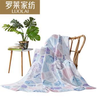 罗莱家纺 全棉可水洗空调被萨曼莎夏被 180*200cm
