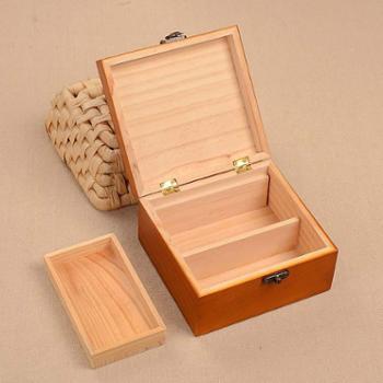 百宝箱实木针线盒韩国风针线套装缝纫手缝线家用收纳针线包款式随机