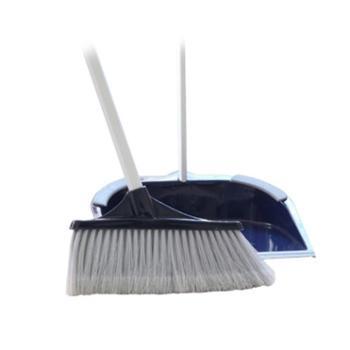 伊司达铝合金杆扫把簸箕套装地板笤帚软毛扫帚畚箕畚斗组合
