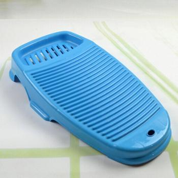 加厚加硬抗摔抗压全新料塑料大号防滑搓衣板洗衣板可配洗衣盆 小号