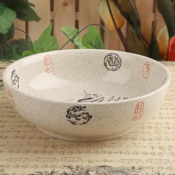大号陶瓷汤碗水煮鱼大碗酸菜鱼盆汤盆大码菜碗和面盆