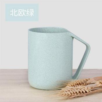 贝合创意小麦漱口杯子 情侣牙刷杯刷牙杯儿童洗漱杯塑料牙缸