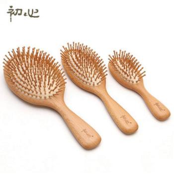 头皮按摩梳子防脱发头部护发美发梳气囊卷发梳防静电气垫化妆木梳单个装