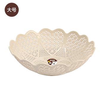 稻草熊爱心果盘创意干果盒糖果盒水果盆零食盘