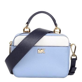 MICHAEL KORS 迈克.科尔斯 MK 女包 女士小方包 单肩包 斜挎包 手提包 32T8GF5C0T 蓝色