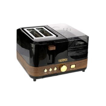 膳魔师/THERMOS 多功能家用早餐面包机 EHA-5311A-B