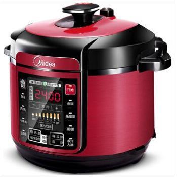 美的 电压力锅5升双胆电高压锅 一键排气 七段调压 开盖收汁 WQC50A5