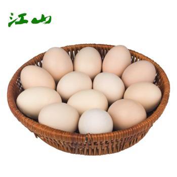 江山 新鲜农家鸡蛋 30枚