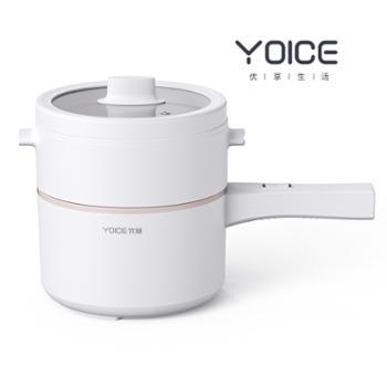 优益 电煮锅迷你电热锅(带蒸笼) Y-DZG31