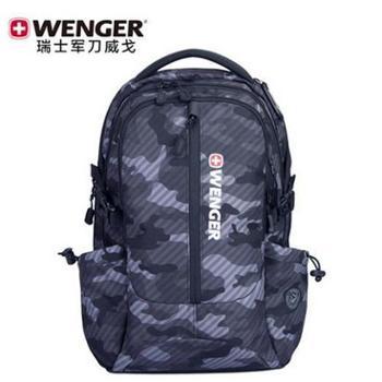 瑞士军刀威戈双肩背包男女15.6寸电脑背包迷彩旅行背包大学生书包SAB86817107048