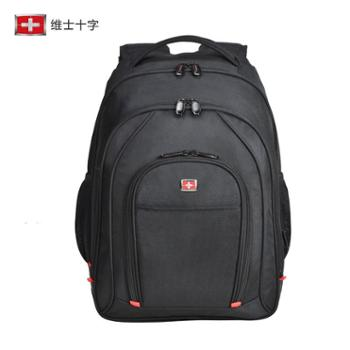 维士十字双肩包男女包男士背包旅行包休闲商务电脑包VC3008-LE5901