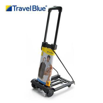 TravelBlue蓝旅折叠行李车轻便购物车小拖车机场拉杆车折叠手拉车573