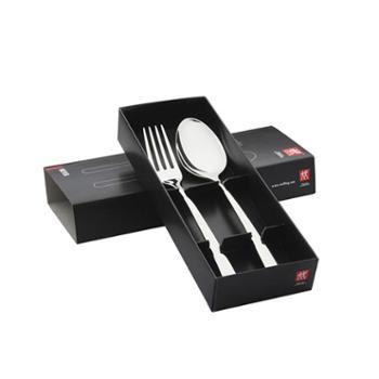 ZWILLING 德国双立人TWIN Nova 西餐具叉勺2件套 套装 07141-402-9