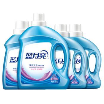 蓝月亮14斤机洗专用洗衣液薰衣草香(3kg*1瓶+2kg*1瓶+1kg*2瓶)10001552