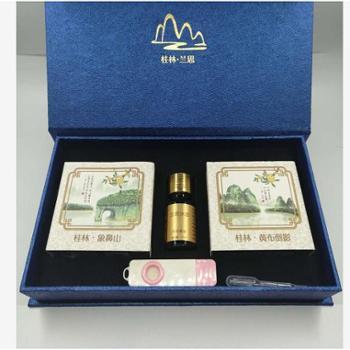 兰思沐语桂花精油皂+单方精油组合小礼盒