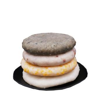 吊角楼 湘西土家特色糕点小吃湘西年粑300克4袋装(四种口味搭配)