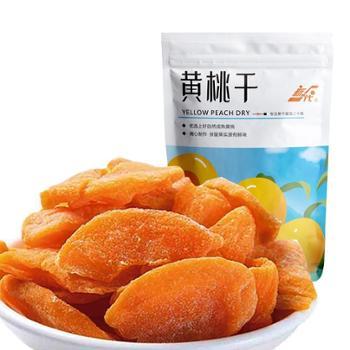 新一代黄桃干蜜饯果脯果肉水果干网红108g