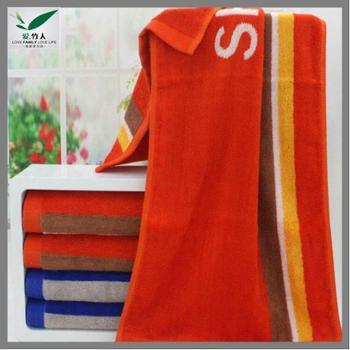 爱竹人 单条运动毛巾 34cm×110cm 168g