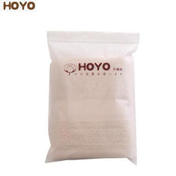 HOYO臻品长绒棉毛巾单条装 磨砂袋毛巾单条装 90g 颜色随机 7262