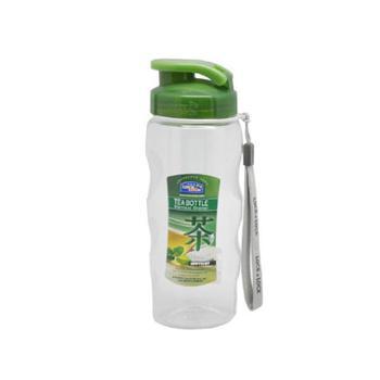 乐扣乐扣 便携塑料运动带茶网水杯 500ml HPP721