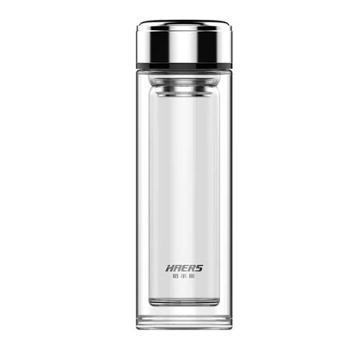 哈尔斯 品悦双层高硼硅玻璃杯 320ML HBL-W-320-60