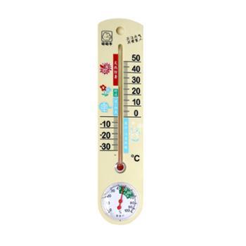 动动手室内外温湿度计