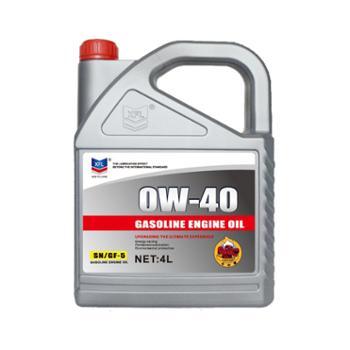 雪弗龙全合成机油SN0W-40润滑油4L装