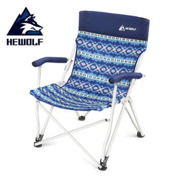 公狼户外沙滩折叠椅便携躺椅钓鱼椅1862