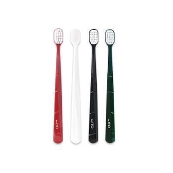 ITO艾特柔宽头成人高密度软毛清洁牙刷4支