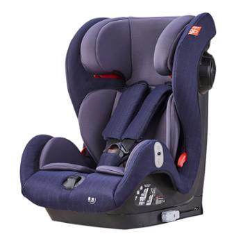 GB好孩子儿童安全座椅宝宝汽车安全座椅isofix连接带简易安全座椅9月-12岁婴儿儿童座椅