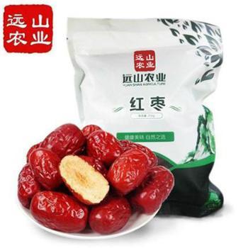 远山农业新疆阿克苏红枣250g*1袋枣香浓郁皮薄肉紧核小香甜