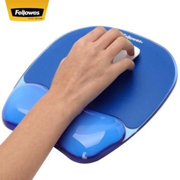 美国fellowes范罗士人体工学硅胶护腕式鼠标垫腕托手托