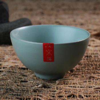 陶立方汝窑茶杯元本道品茶杯汝瓷开片功夫茶具个人杯大茶碗茶盏TF-5300
